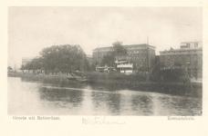 PBK-7088 Het Zeemanshuis in de Calandstraat, gezien vanaf de Westerhaven, uit het noordwesten.