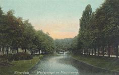 PBK-7155 Westersingel met rechts de Mauritsweg, vanuit het zuiden.