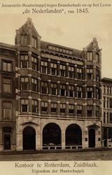 PBK-744 Het kantoorgebouw van de Verzekeringsmaatschappij ' De Nederlanden ' van 1845 aan de Zuidblaak nummer 26