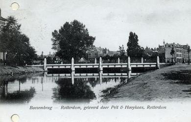PBK-796 Boezembrug uit het zuiden gezien. Bij de Sophiakade.
