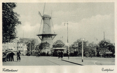 PBK-8123 Gezicht op molen de Noord aan het Oostplein.