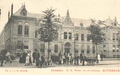 PBK-8201 Het rooms-katholieke wees- en armhuis Huize Simeon & Anna aan de West-Kruiskade uit 1902, vanaf 1972 onderdeel ...