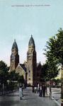 PBK-821 Koninginnekerk aan de Boezemsingel, uit het zuidoosten, vanaf de Vredenoordkade.