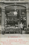 PBK-8272 Het pand van W. Prince mr. Smid, magazijn van kachels, haarden en fornuizen aan de Kipstraat nummer 34.