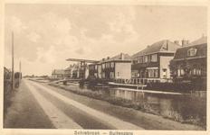 PBK-8702 Schiebroek, Buitenzorg. Huizencomplex ten oosten van de Ringdijk.