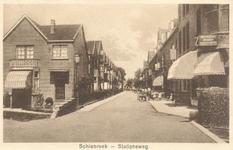 PBK-8703 Schiebroek, Stationsweg (nu Diamantweg), van de Kleiweg naar de Achterweg (nu Erasmussingel).