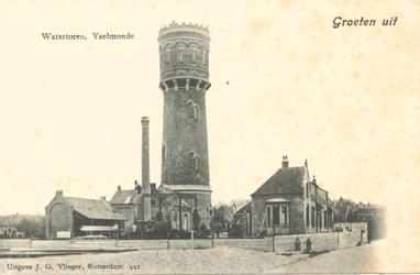 PBK-8734 Groeten uit. Watertoren, IJsselmonde.
