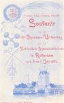PBK-8845 Vrank, Vrij, Vroom, Vroed! Souvenir van de 18e Openbare Uitvoering van het Neerlandsch Gijmnastiekverbond te ...