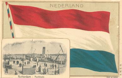 PBK-8853 Nederland. Rotterdam - Parkkade.