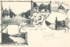 PBK-8884 De Groeten uit Rotterdam.