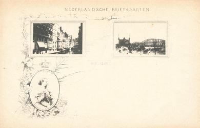 PBK-8941 Nederlandsche Briefkaarten. Afbeelding Koningin Wilhelmina.