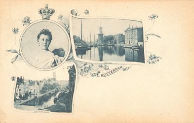 PBK-8946 Koningin Wilhelmina. Rotterdam.