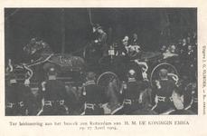 PBK-8988 Ter herinnering aan het bezoek aan Rotterdam van H.M. De Koninging Emma.
