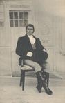 PBK-9042 Eeuwfeest. Viering Onafhankelijkheid Nederland. Jan C. Veder in historische kledij verkleed als Baron Fagel.