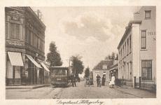 PBK-9671 Gezicht in de Bergse Dorpsstraat, bij hotel Freericks, uit het zuiden, op de achtergrond de Grindweg.