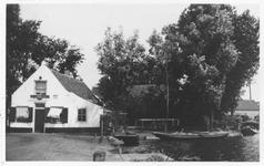 PBK-9707 Herberg In den Baars aan de Bergse Rechter Rottekade, vanuit het zuiden.