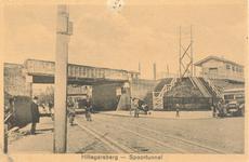 PBK-9783 Spoorwegviaduct Ceintuurbaan en station, uit het zuidwesten.