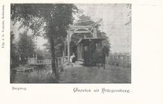 PBK-9784 Gezicht op de in 1882 gebouwdeTivolibrug aan de Straatweg, vanuit het zuiden.