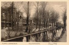 PBK-9882 Gezicht op theetuin Lommerrijk (v/h Vrouw Romein) aan de Straatweg, westzijde.