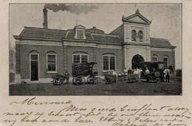 PBK-998 De Rotterdamse broodfabriek ' De Korenaar ', aan de Nieuwe Binnenweg 619, gelegen tussen het Hemraadsplein en ...