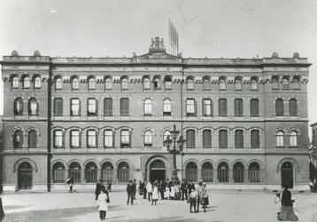 XI-43 Het postkantoor aan het Beursplein.