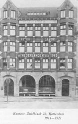 XIV-275-00-01-1-TM-3 Het kantoor van verzekeringsmaatschappij De Nederlanden van 1845 aan de Zuidblaak, waarin van ...