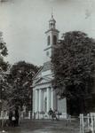 XVIII-166-1-TM-2 Nederlandse Hervormde kerk aan de Hoflaan.3 opnamen.Afgebeeld van boven naar beneden:-1-2