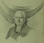 M-1898 Portret van Henricus Oort, Nederlands Hervormd predikant.