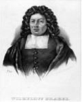 M-225 Portret van Wilhelmus van - of à - Brakel, sinds 1683 predikant bij de Nederlands Hervormde gemeente te Rotterdam.