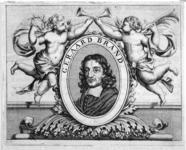 M-239 Portret van Gerardus Brandt, predikant bij de Remonstrantse Broederschap. Schrijver en dichter.