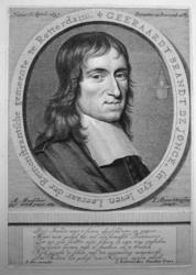 M-244 Portret van Gerard Brandt de Jonge, predikant bij de Remonstrantse gemeente in Rotterdam sinds 1680.
