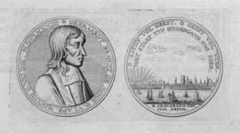 M-246 Portret van Gerard Brandt de Jonge, predikant bij de Remonstrantse gemeente in Rotterdam sinds 1680.