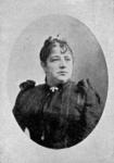 M-303 Portret van Anna Burlage - Verwoerd, toneelspeelster bij het Rotterdamsche Tooneel.