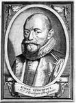 M-482 Portret van Simon Egberts Episcopius, van 1610 tot 1612 predikant te Bleiswijk en van 1626 tot 1634 nauw ...