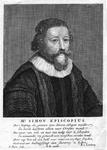 M-491 Portret van Simon Egberts Episcopius, van 1610 tot 1612 predikant te Bleiswijk en van 1626 tot 1634 nauw ...