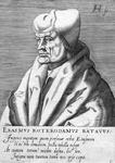 M-501 Portret van Desiderius Erasmus, humanist.