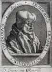 M-503 Portret van Desiderius Erasmus, humanist.