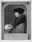 M-505 Portret van Desiderius Erasmus, humanist.