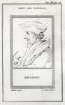 M-508 Portret van Desiderius Erasmus, humanist.