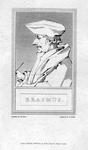 M-509 Portret van Desiderius Erasmus, humanist.