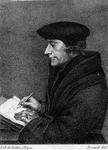 M-510 Portret van Desiderius Erasmus, humanist.