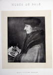 M-511 Portret van Desiderius Erasmus, humanist.