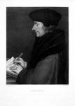 M-512 Portret van Desiderius Erasmus, humanist.