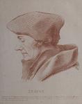 M-520 Portret van Desiderius Erasmus, humanist.