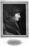 M-525 Portret van Desiderius Erasmus, humanist.