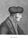 M-527 Portret van Desiderius Erasmus, humanist.
