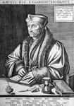 M-530 Portret van Desiderius Erasmus, humanist.