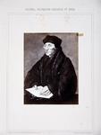 M-535 Portret van Desiderius Erasmus, humanist.