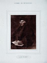 M-536 Portret van Desiderius Erasmus, humanist.
