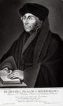 M-537 Portret van Desiderius Erasmus, humanist.